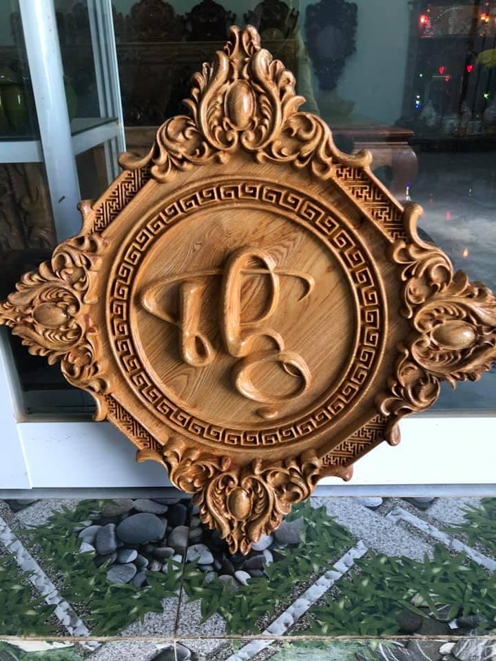tranh gỗ chữ thọ