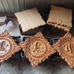 Tranh gỗ Phúc Lộc Thọ đẹp gỗ pơmu