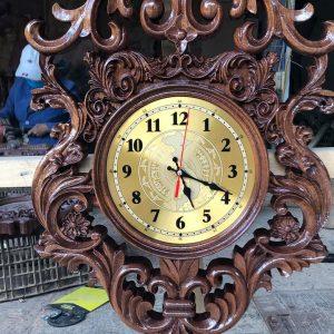 đồng hồ gỗ muồng