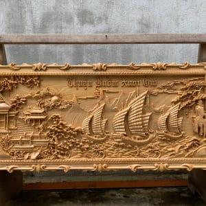 Giá tranh gỗ Thuận Buồm Xuôi Gió