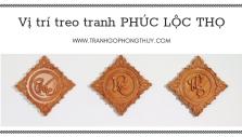TREO TRANH PHÚC LỘC THỌ