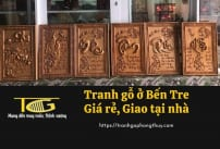 Tranh gỗ Bến Tre