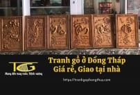 Tranh gỗ Đồng Tháp