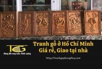 Tranh gỗ Hồ Chí Minh