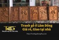Tranh gỗ Lâm Đồng