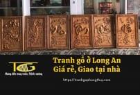 Tranh gỗ Long An