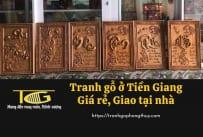 Tranh gỗ Tiền Giang