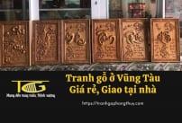 Tranh gỗ Vũng Tàu