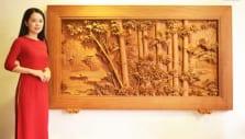 tranh gỗ đẹp