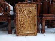 tranh gỗ vợ chồng