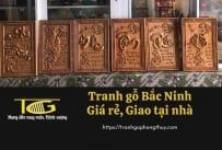 Tranh gỗ Bắc Ninh