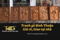 Tranh gỗ Bình Thuận