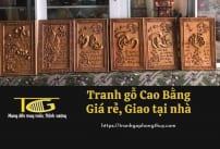 Tranh gỗ Cao Bằng