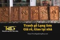Tranh gỗ Lạng Sơn