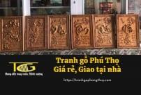 Tranh gỗ Phú Thọ