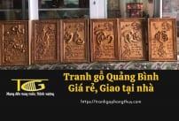 Tranh gỗ Quảng Bình